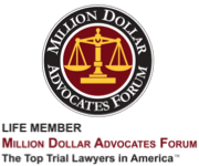 Life Member Million Dollar Advocates Forum