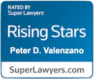 Super Lawyers Rising Star Badge - Peter D. Valenzano